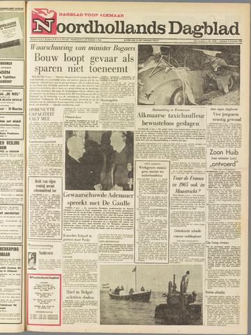 Noordhollands Dagblad : dagblad voor Alkmaar en omgeving 1964-11-09
