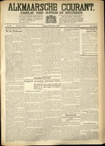 Alkmaarsche Courant 1933-10-20