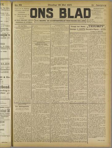 Ons Blad : katholiek nieuwsblad voor N-H 1917-05-29