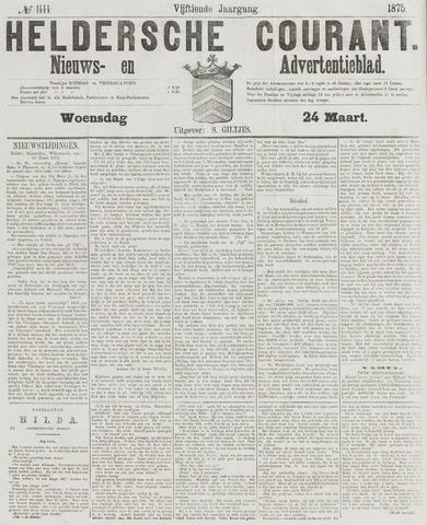Heldersche Courant 1875-03-24