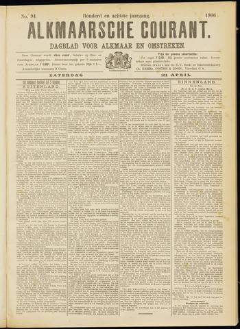 Alkmaarsche Courant 1906-04-21
