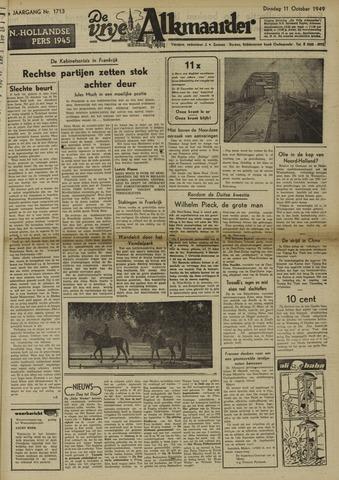 De Vrije Alkmaarder 1949-10-11