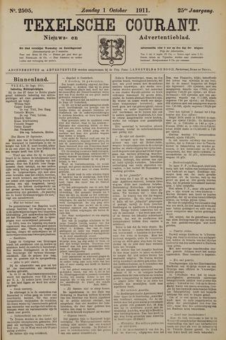 Texelsche Courant 1911-10-01