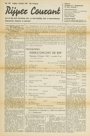 Rijper Courant 1947-10-03