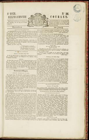 Alkmaarsche Courant 1851-06-30