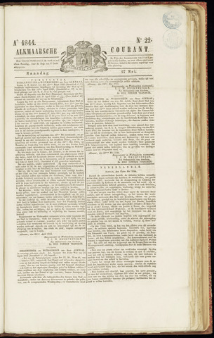 Alkmaarsche Courant 1844-05-27