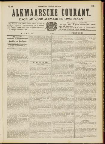Alkmaarsche Courant 1910-02-09