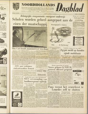 Noordhollands Dagblad : dagblad voor Alkmaar en omgeving 1958-10-31