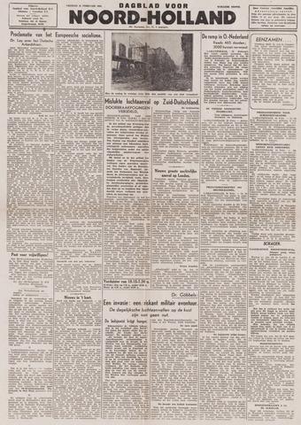 Dagblad Noord-Holland, Schager editie 1944-02-25