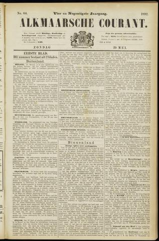 Alkmaarsche Courant 1892-05-29