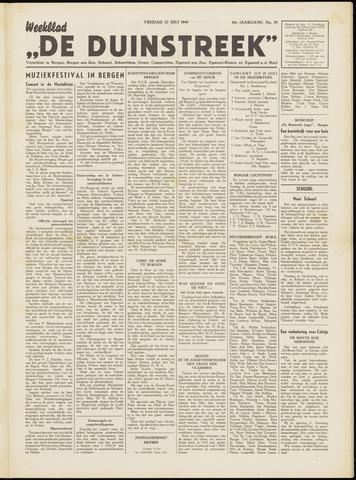 De Duinstreek 1949-07-22