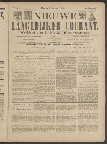 Nieuwe Langedijker Courant 1894-01-21