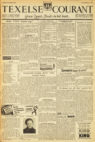Texelsche Courant 1952-02-23