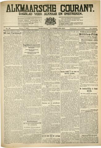 Alkmaarsche Courant 1930-02-12