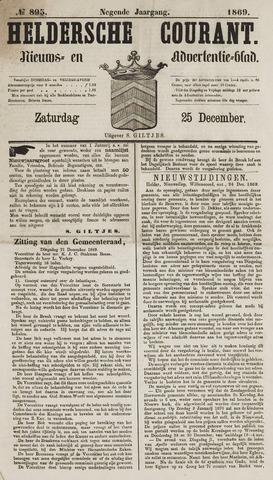 Heldersche Courant 1869-12-25