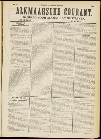 Alkmaarsche Courant 1913-03-27