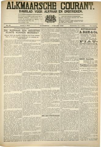 Alkmaarsche Courant 1930-03-08