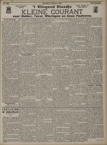 Vliegend blaadje : nieuws- en advertentiebode voor Den Helder 1906-11-10