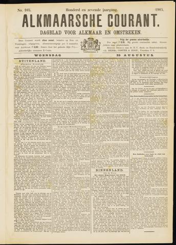 Alkmaarsche Courant 1905-08-23