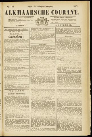 Alkmaarsche Courant 1887-11-04
