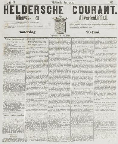Heldersche Courant 1875-06-26