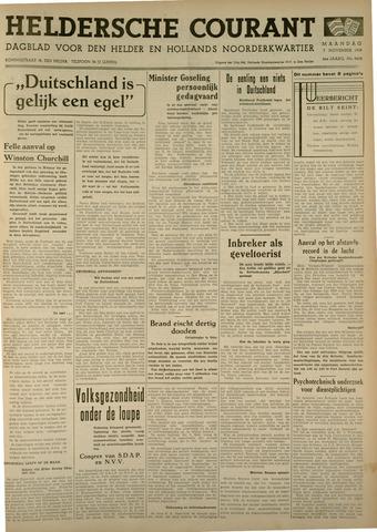 Heldersche Courant 1938-11-07