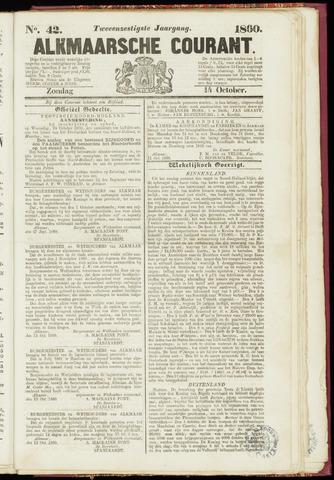 Alkmaarsche Courant 1860-10-14