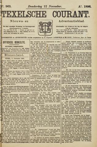 Texelsche Courant 1896-11-12