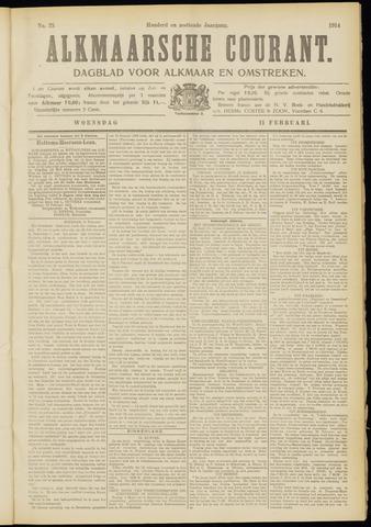 Alkmaarsche Courant 1914-02-11