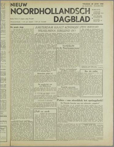 Nieuw Noordhollandsch Dagblad : voor Alkmaar en omgeving 1945-06-29
