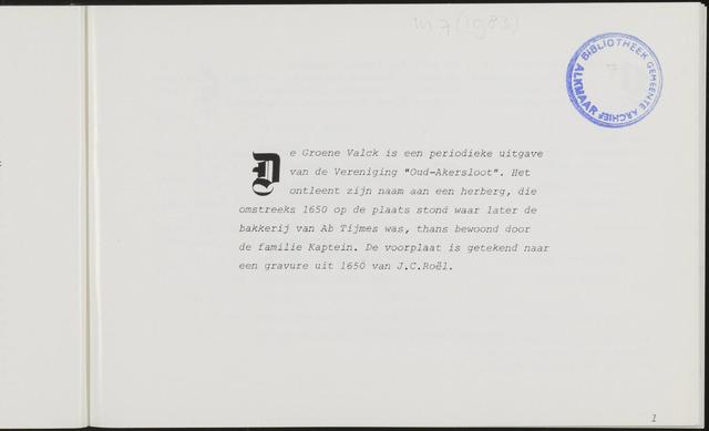 De Groene Valck 1983-05-01