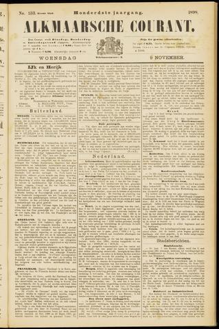 Alkmaarsche Courant 1898-11-09