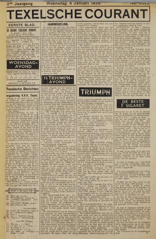 Texelsche Courant 1939