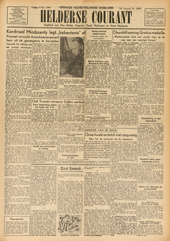 Heldersche Courant 1949-02-04