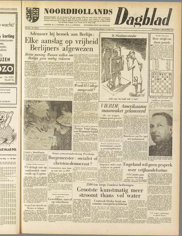 Noordhollands Dagblad : dagblad voor Alkmaar en omgeving 1958-12-06