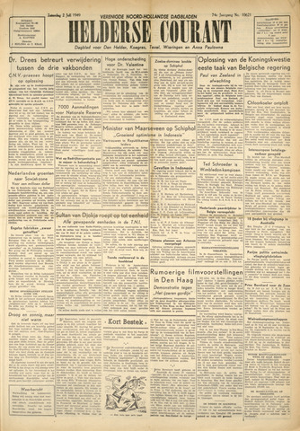 Heldersche Courant 1949-07-02