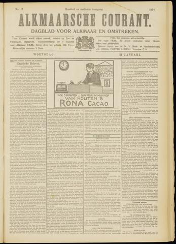 Alkmaarsche Courant 1914-01-21