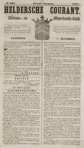 Heldersche Courant 1867-12-07