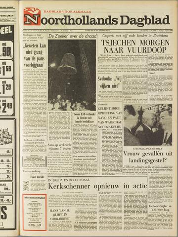 Noordhollands Dagblad : dagblad voor Alkmaar en omgeving 1968-08-02