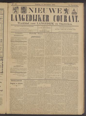 Nieuwe Langedijker Courant 1895-12-15