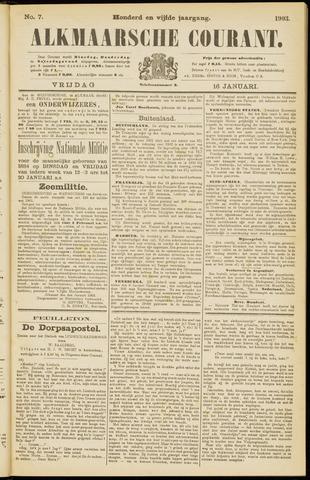 Alkmaarsche Courant 1903-01-16