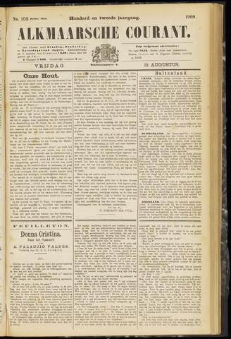 Alkmaarsche Courant 1900-08-31