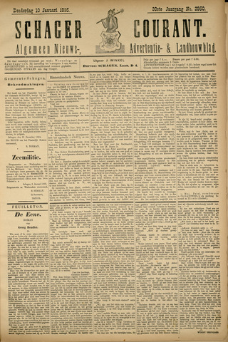 Schager Courant 1895-01-10