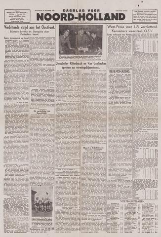 Dagblad Noord-Holland, Schager editie 1943-10-25