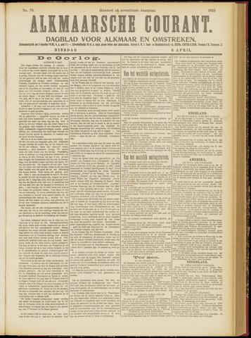 Alkmaarsche Courant 1915-04-06