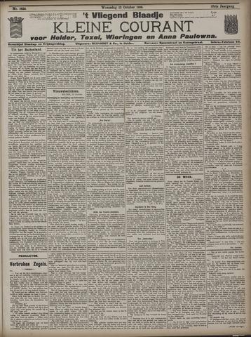 Vliegend blaadje : nieuws- en advertentiebode voor Den Helder 1909-10-13