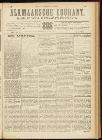 Alkmaarsche Courant 1917-04-24