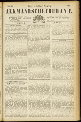 Alkmaarsche Courant 1885-07-17
