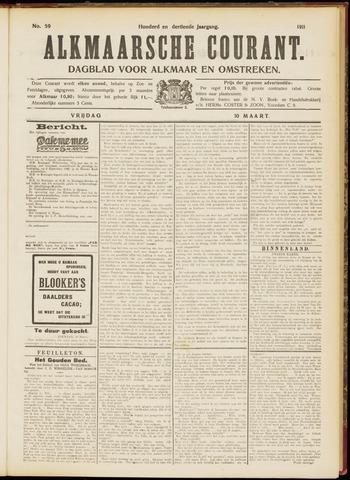 Alkmaarsche Courant 1911-03-10