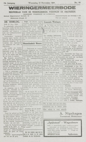 Wieringermeerbode 1944-11-22